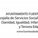Logotipo Concejalía de Servicios Sociales y del Ciudadano (Sanidad, Igualdad, Infancia, Juventud y Tercera Edad)