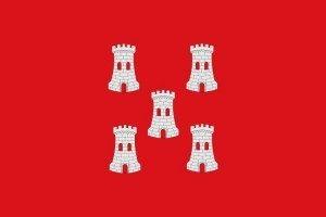Bandera Heráldica de Fuentes de Ebro